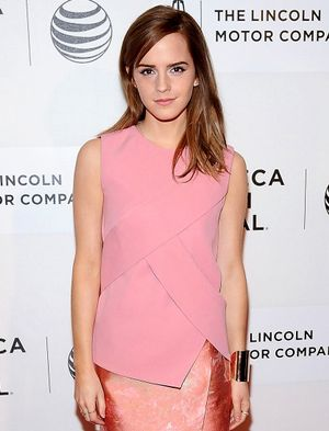 Emma Watson Is Pretty In Pink For Vogue UK's September Issue