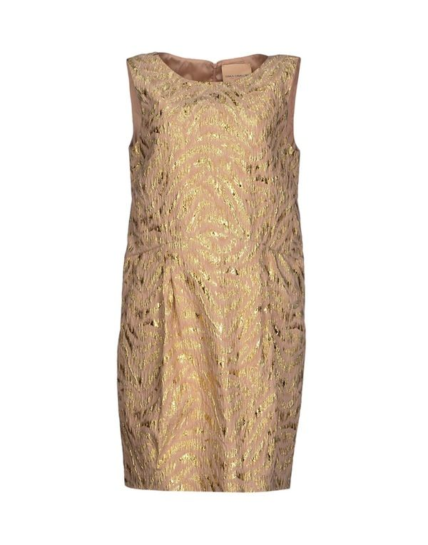 Erika Cavallini Semicouture Short Brocade Dress