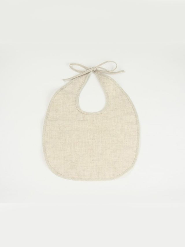 Odette Williams Linen + Oganic French Terry Bib