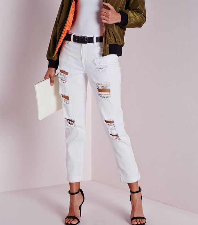 Missguided Distressed Boyfriend Jeans