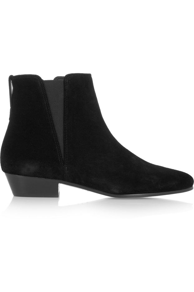Isabel Marant Patsha Suede Ankle Boots