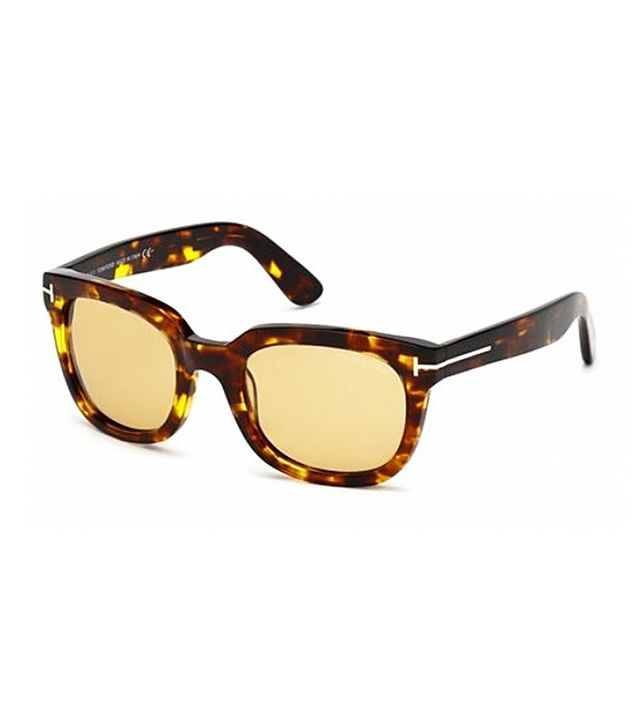Tom Ford Campbell Sunglasses, Tortoise