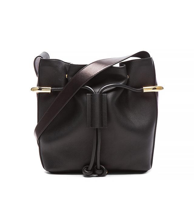 Chloé Small Emma Drawstring Bag, Black