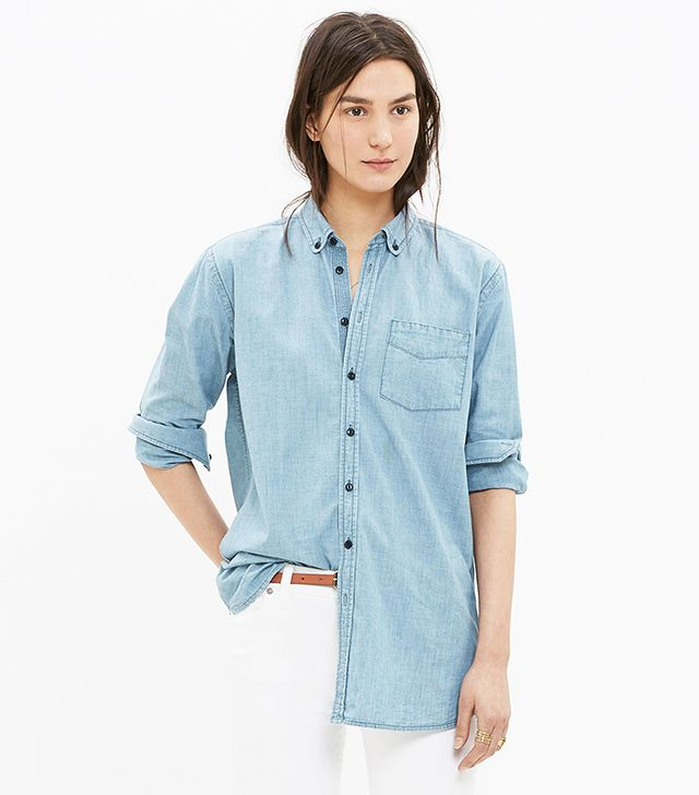 Madewell Oversized Chambray Shirt
