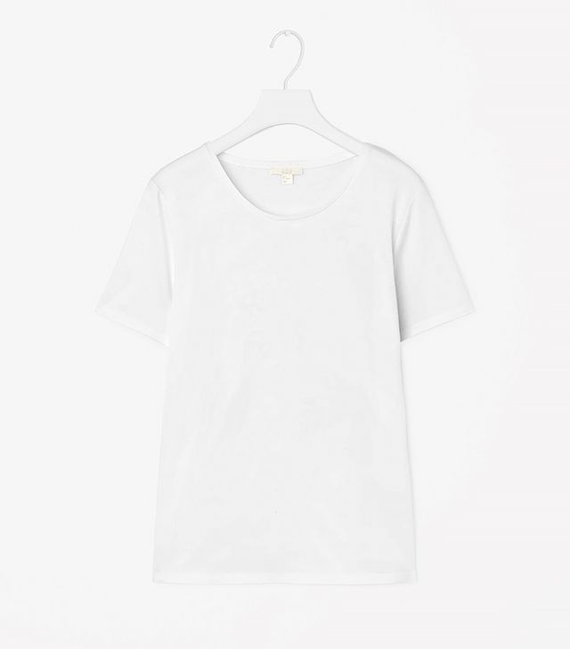 COS T-Shirt With Bonded Hem