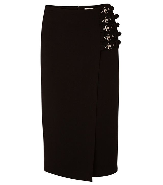 A.L.C. Clint Pencil Buckle Skirt