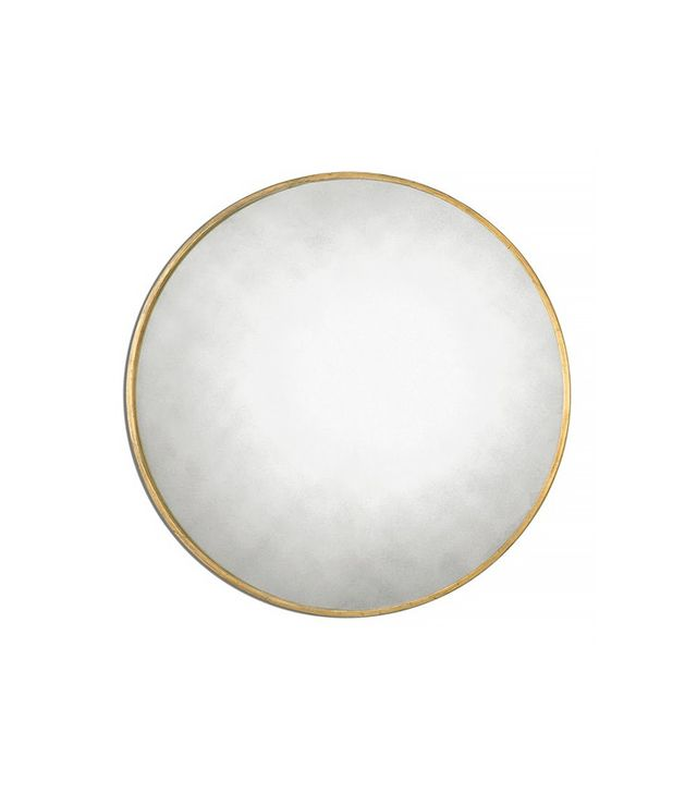 Uttermost Junius Round Gold Round Mirror