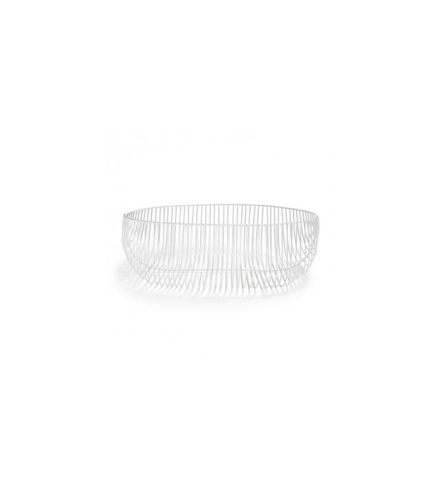 Bend Goods White Wire Basket