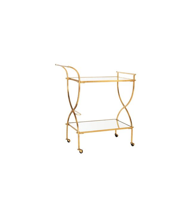 Joss&Main Francesca Mirrored Bar Cart