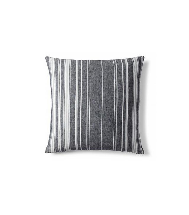 ED Textured Indigo Stripe Pillow