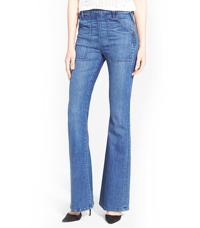 Frame Denim Le Flare de Françoise High Rise Flare Jeans