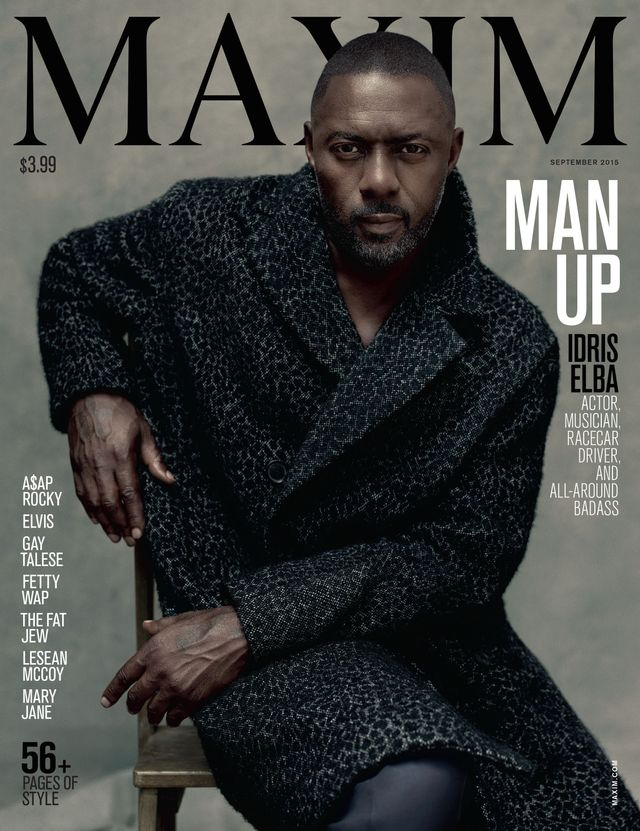 Maxim's Female Editor in Chief Put the First Solo Man on Its Cover