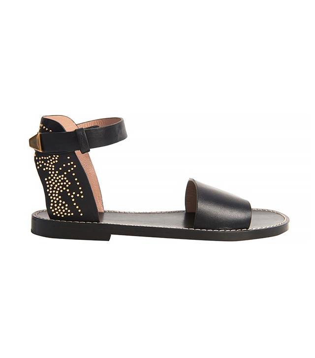 Chloé Susannah Studded Leather Sandals