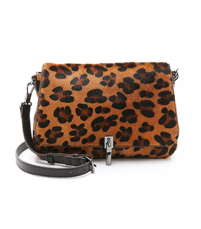 Elizabeth & James Mini Haircalf Cross Body Bag