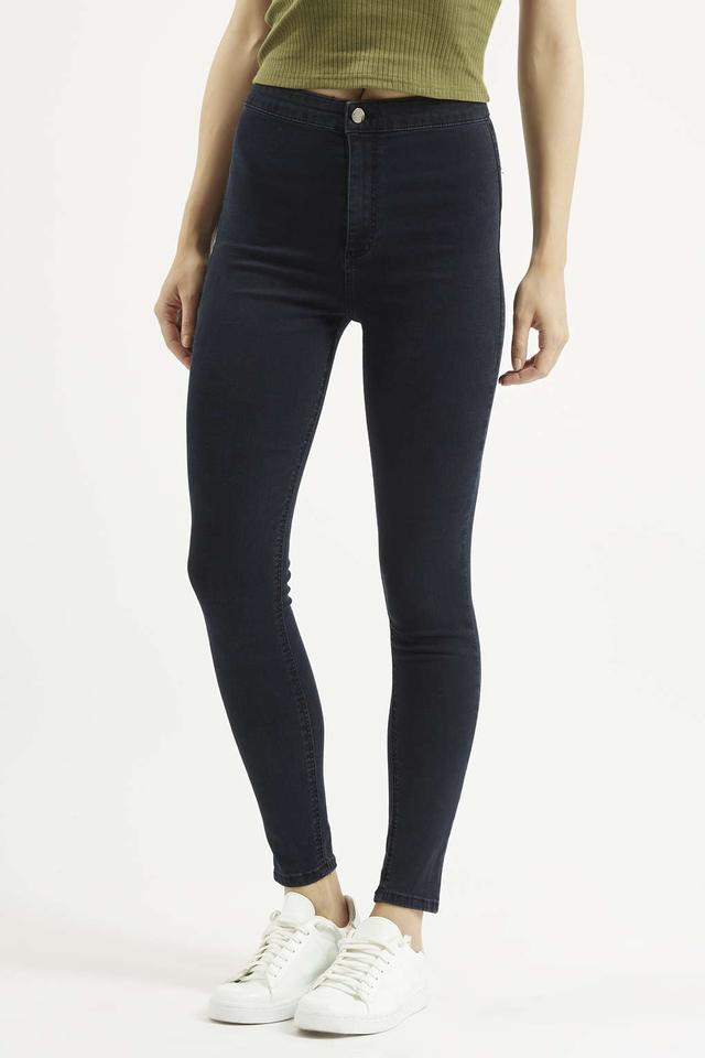 Topshop Moto Blue-Black Joni Jeans