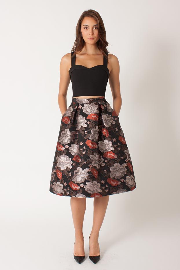 Janie Bryant for Black Halo Josephina Two-Piece Dress