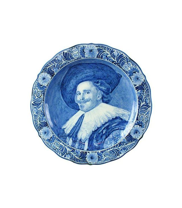 Chairish Vintage Blue and White Delft Plate