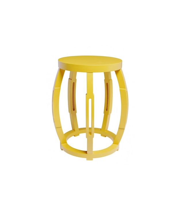 Bungalow5 Taboret Yellow Stool