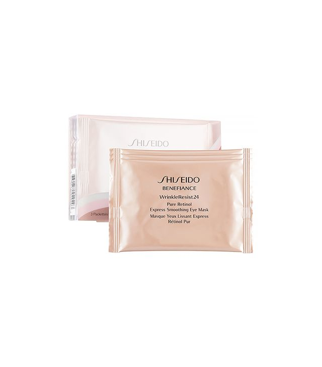 Shiseido 'Benefiance WrinkleResist24' Pure Retinol Express Smoothing Eye Mask