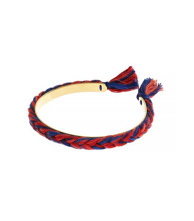 Aurélie Bidermann Copacabana Thread Gold-Plated Bracelet