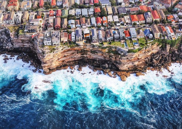 """Bondi From Above"""