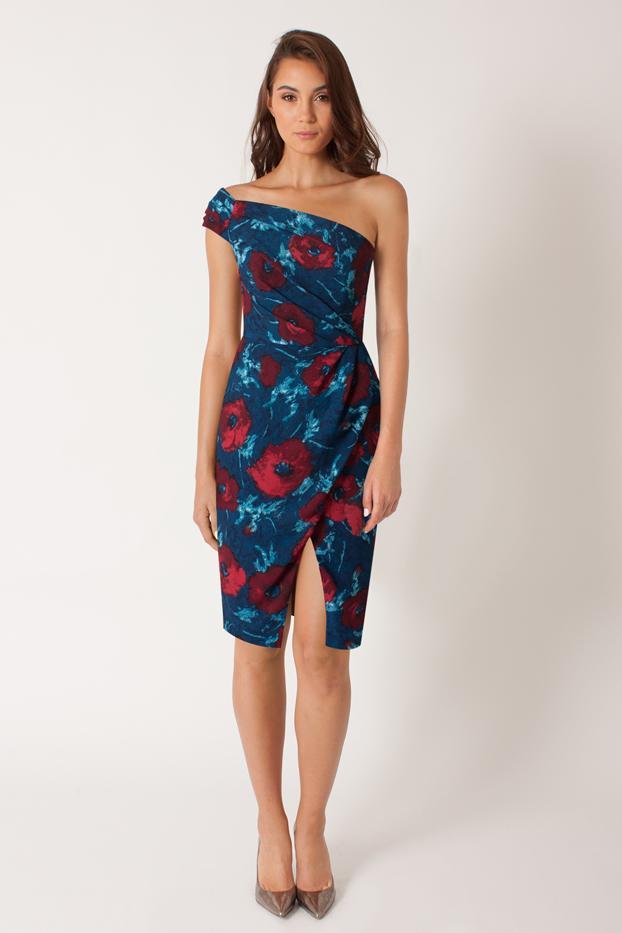 Janie Bryant for Black Halo Sonata Sheath Dress