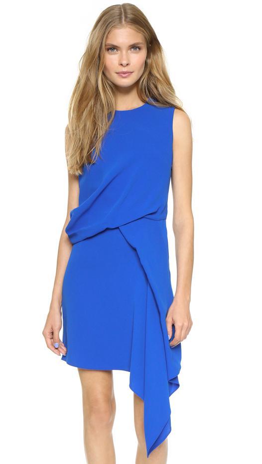 McQ Alexander McQueen Handkerchief Drape Dress
