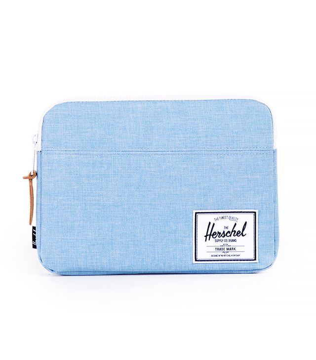 Herschel Supply Co. Chambray Crosshatch Anchor Sleeve