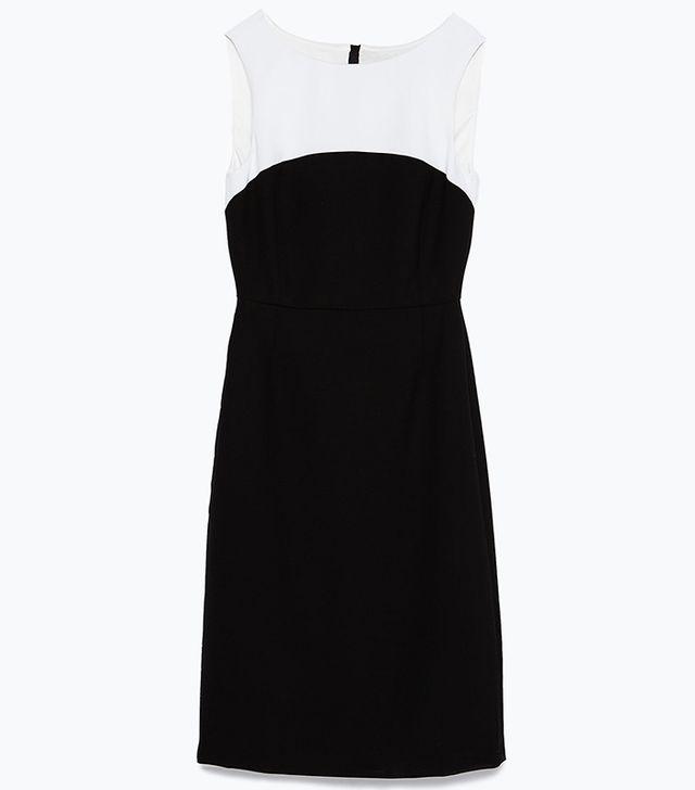 Zara Two-Tone Dress