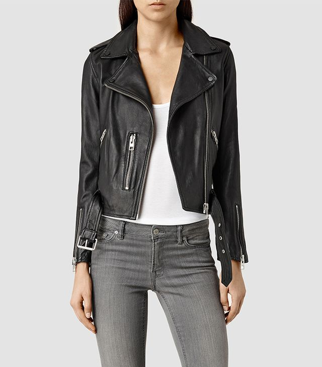 AllSaints Balfren Leather Jacket