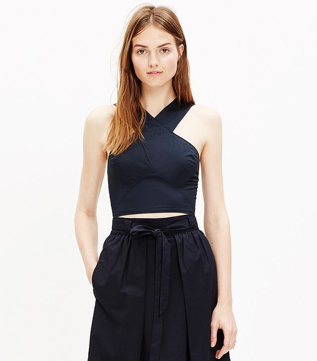 Madewell Cross-Front Top