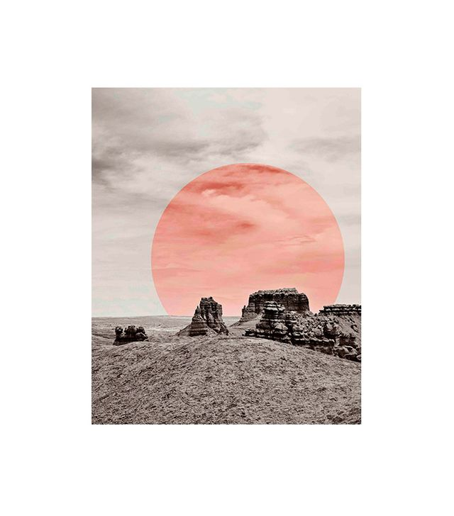 """Modern Desert Print"" by Luna Reef"