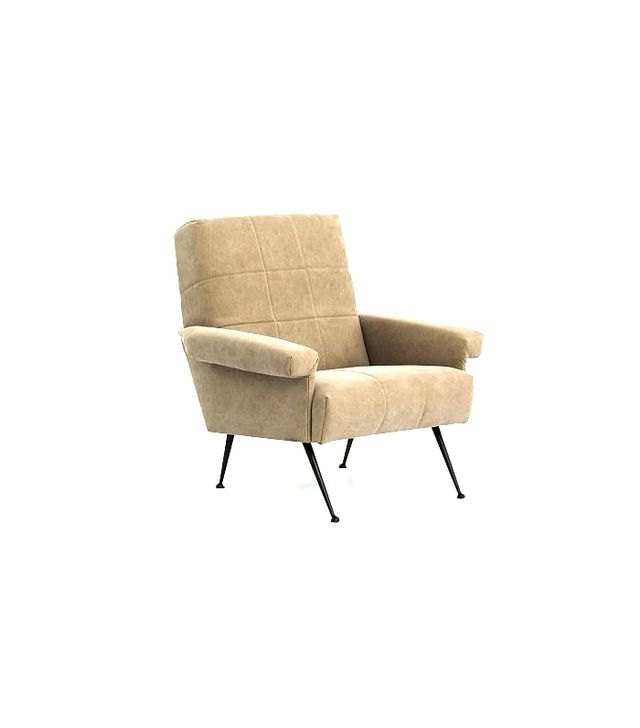 West Elm Grid-Tufted Armchair