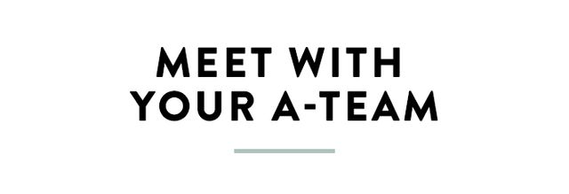 Once you've got your plan, speak with your most trusted friends and family members. I refer to this as your A-team, the group of people who provide continual support, occasional tough love, and...