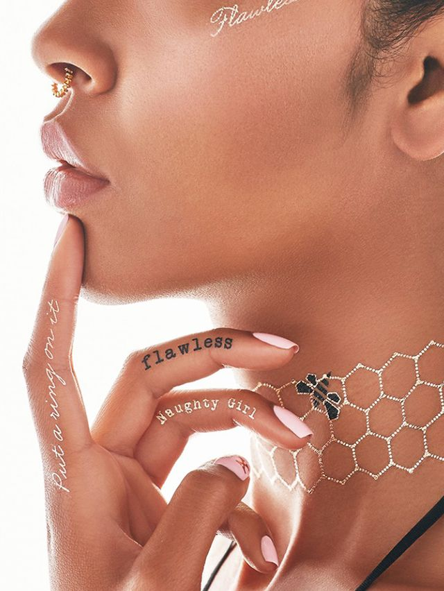 Beyoncé x Flash Tattoos Metallic Temporary Tattoos