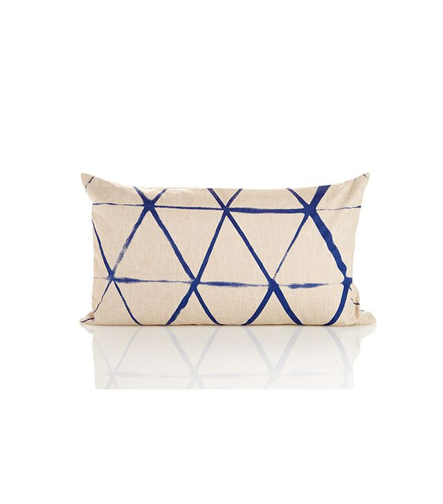 Celerie Kemble Stripe Print Pillow - Blue