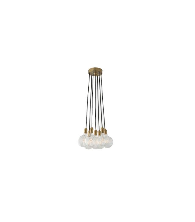 Schoolhouse Electric Brass City Chandelier 7