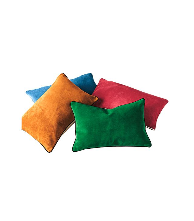 Serena & Lily Suede Lumbar Pillow Covers