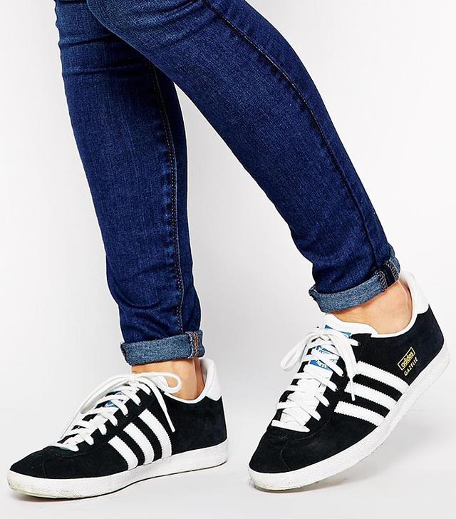 Adidas Originals Gazelle OG Black & White Trainers