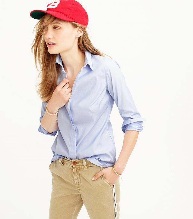 J.Crew Button-Down Shirt, Pale Blue