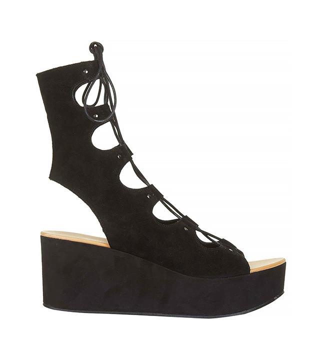 Topshop Webster Ghillie Lace-Up Sandals