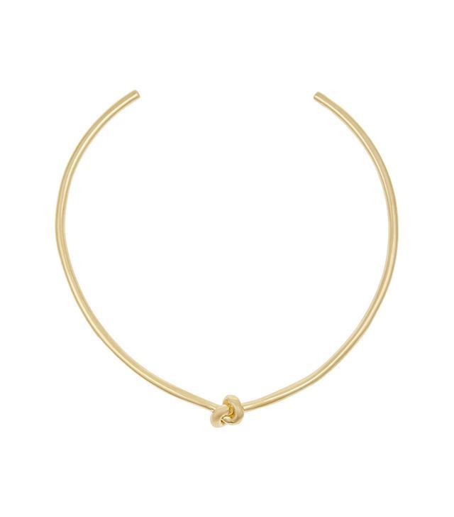 Jennifer Fisher Knot Gold-Plated Choker