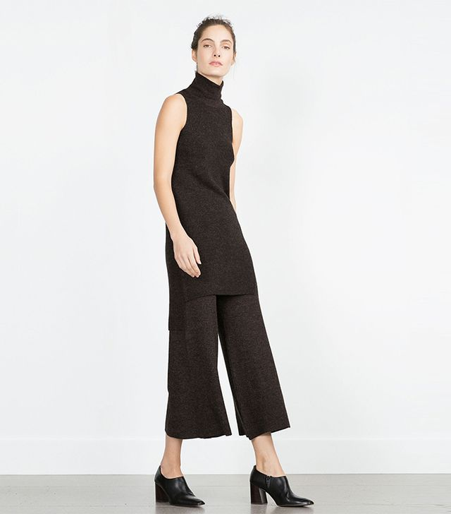 Zara Straight-Cut Trousers