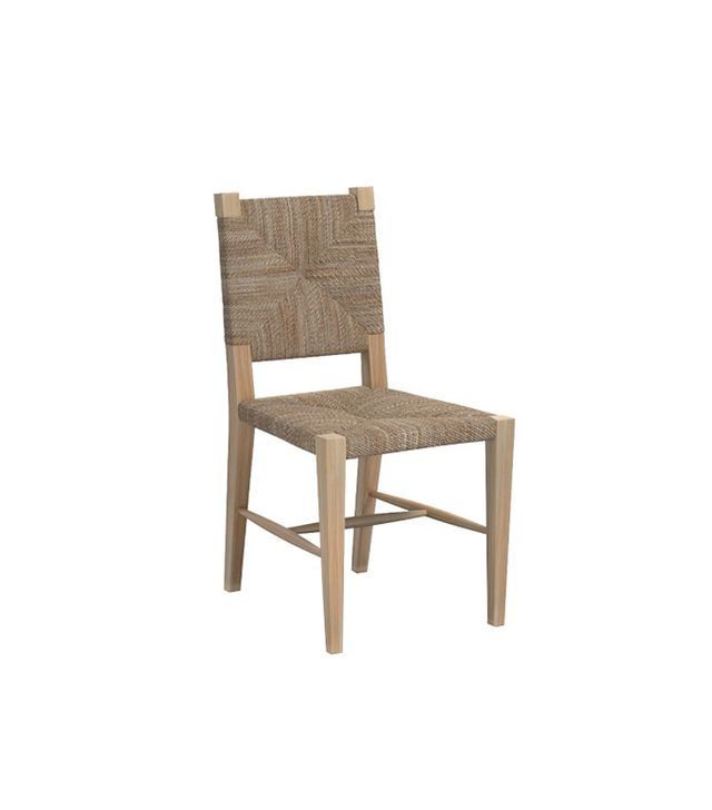 Williams-Sonoma Rutherford Woven Rush Dining Side Chair