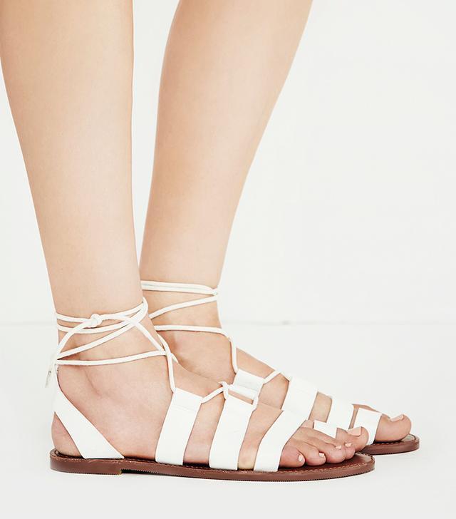 Faryl Robin + Free People Vegan Maddie Tie Up Sandals