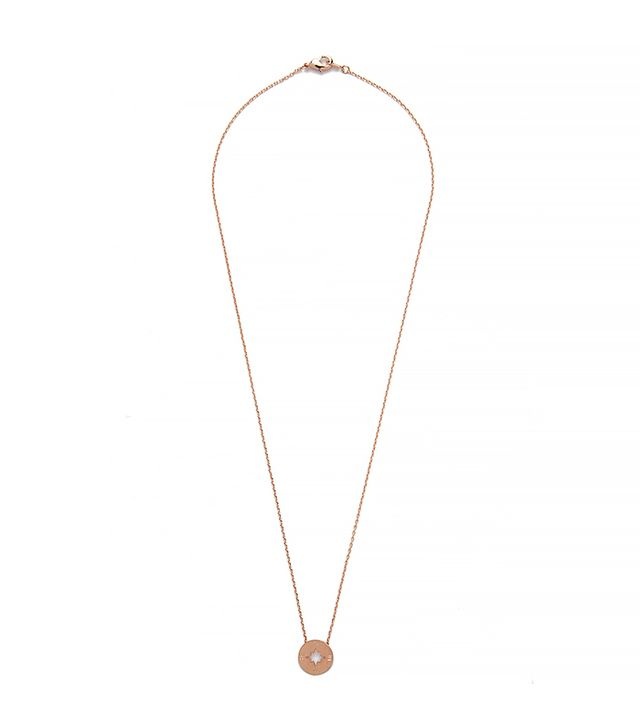 Modern Citizen Going Places Pendant Necklace in Rose Gold