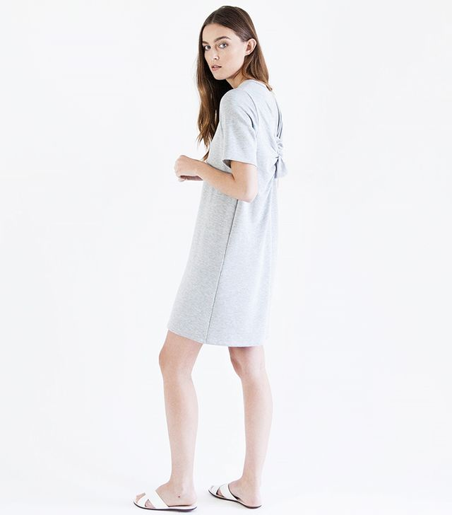 Modern Citizen French Terry Knot Dress