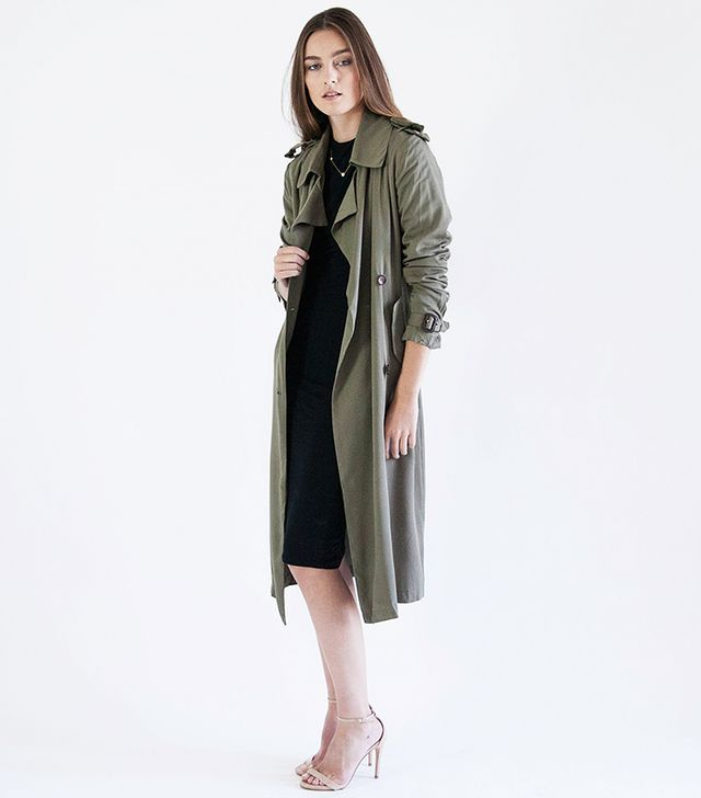 Modern Citizen Boyfriend Trench Coat