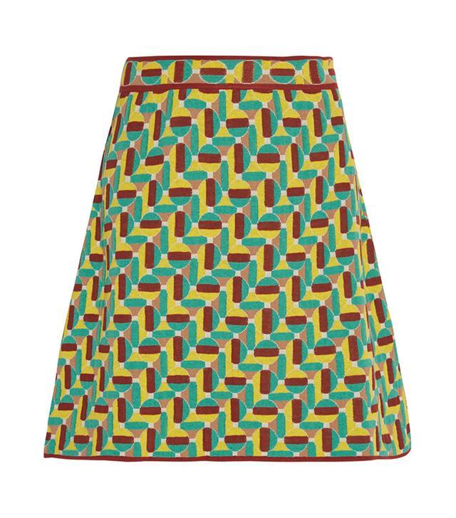 M Missoni Jacquard-Knit Miniskirt