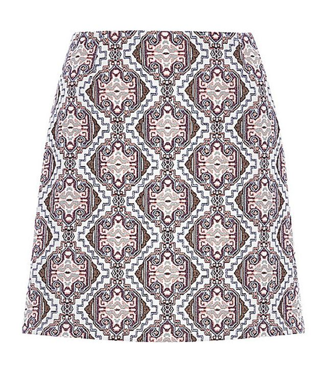 River Island Baroque Pelmet Skirt